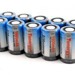 10pcs Tenergy 2/3A 1600mAh NiMH Rechargeable Batteries