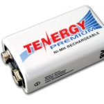 Tenergy Premium 9V 200mAh NiMH Rechargeable Battery