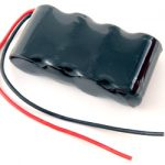 AT: Tenergy 4.8V 10000mAh Side by Side NiMH Battery w/ Bare Leads