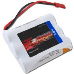 Tenergy 3.6V 2000mAh Side-by-Side Ready to Use NiMH Battery Packs w/ BEC Connector