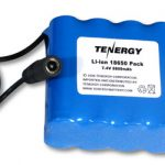 AT: Tenergy Li-Ion 18650 7.4V 8800mAh PCB Protected Rechargeable Battery Module w/ DC Connector