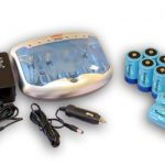 Combo: Tenergy T-2299 Universal Smart Charger + 8 D 10000mAh NiMH Rechargeable Batteries