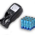 Combo: Tenergy T-2833 AA/AAA NiMH Charger + 12 AAA 1000mAh Rechargeable Batteries