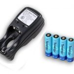 Combo: Tenergy T-2833 AA/AAA NiMH Charger + 4 AA 2600mAh Rechargeable Batteries
