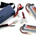 Two 7.2V 3000mAh Flat NiMH High Power Battery Packs with Tamiya Connectors + Smart Universal Charger for NiMH / NiCd Battery pack 7.2V – 12V 1.8A