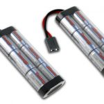 2 Packs: Tenergy 7.2V 5000mAh High Power Flat NiMH Battery Packs w/ Traxxas Connector