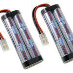 2 Packs: Tenergy Propel 7.2V 4200mAh Flat NiMH Battery Packs w/ Tamiya Connectors