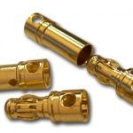 Two pairs of 4mm-Bullet connector