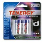 Tenergy Propel CR123A Lithium Battery with PTC Protected (2 pcs) – Retail Card