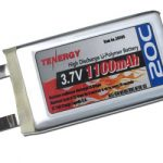 Li-Polymer 3.7v 1100mAh 20C (603565) Battery