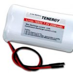 Tenergy Li-Ion 18650 7.4V 2200mAh Rechargeable Battery Module w/ PCB Protection