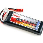 Tenergy 7.4V 900mAh 25C LIPO Battery Pack for Blade CX & CX2 Helicopter