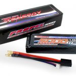 Tenergy 7.4V 5000mAh 25C LIPO Hard Case Battery Pack for RC Cars