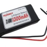 AT: Tenergy 7.4V 1150mAh LIPO PCB Protected Battery Pack w/ Bare Leads