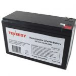 Tenergy Rechargeable LiFePO4 12V 7Ah 89.6Wh Battery