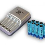 Combo: Tenergy T-3150 Smart AA/AAA NiMH/NiCd Battery Charger + 8 AA 2600mAh NiMH Rechargeable Batteries