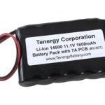 AT: Tenergy Li-Ion 14500 11.1V 1600mAh Rechargeable Battery Pack