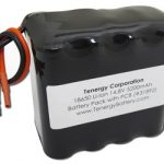 AT: Tenergy Li-Ion 18650 14.8V 5200mAh Rectangular Rechargeable Battery Pack w/ PCB Protection