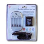 Tenergy 3898UC AC Smart AA/AAA NiMH/NiCd Battery Charger