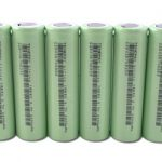 6pcs Tenergy Li-Ion 18650 Cylindrical 3.7V 2200mAh Flat Top Rechargeable Batteries