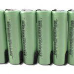 6pcs Tenergy Li-Ion 18650 Cylindrical 3.7V 2200mAh Rechargeable Batteries w/ Tabs
