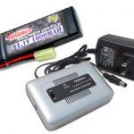 Combo: Tenergy 1-4 Cells Li-PO/Li-Fe Balance Charger + 11.1v Tenergy 1600mAh 20C LiPO Battery Pack