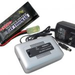 Combo: Tenergy 1-4 Cells Li-PO/Li-Fe Balance Charger + 7.4V 1600mAh 20C LiPO Battery Pack