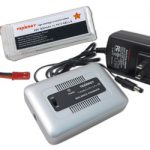 Combo: Tenergy 1-4 Cells Li-PO/Li-Fe Balance Charger + 11.1 volt 900mAh 25C Lipo Battery Pack