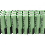 30pcs Tenergy Li-Ion 14500 Cylindrical 3.7V 800mAh Rechargeable Batteries w/ Tabs