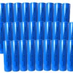 30pcs Tenergy Li-Ion Flat Top 18650 Cylindrical 3.7V 2200mAh Rechargeable Batteries w/ PCB