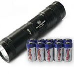 OLIGHT T10-T R5 Cree XP-G R5 + 10pcs Tenergy Propel CR123A Lithium Battery (PTC Protected)