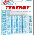 1 Card: Tenergy AA Size Hawaiian Version Alkaline Batteries