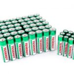 Combo: 60pcs Tenergy Alkaline Batteries (48 AA + 12 AAA)