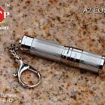 A2 EOS Stainless Steel Body Mini Flashlight