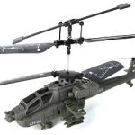 Syma S012 3-Channel Mini Apache RC Helicopter
