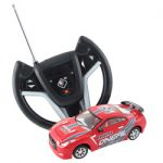 Die-Cast Radio Control Metal Racing Car (red / white) #61086-7