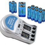 Combo: T-3969A1 Plug-in NiMH Charger + 14 Tenergy Batteries (8AA /4AAA/2 9V)