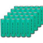 Combo: 30pcs Tenergy 4/3AF 18650 3800mAh NiMH Rechargeable Batteries