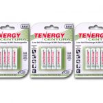 3 Cards: Tenergy Centura NiMH AAA 800mAh Low Self Discharge Rechargeable Batteries