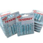 12 Cards: 4Pcs Tenergy AA Size Hawaiian Version Alkaline Batteries