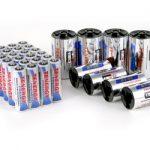 Combo: 24pcs Tenergy Premium AA 2500mAh NiMH Rechargeable Batteries + 4 C & 4 D Size Adapters