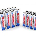 Combo: 16pcs Tenergy Premium NiMH Rechargeable Batteries (8AA/8AAA)