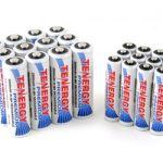 Combo: 24pcs Tenergy Premium NiMH Rechargeable Batteries (12AA/12AAA)