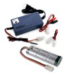 Combo: Tenergy Smart Universal Charger + 7.2v 5000mah NiMH Battery Pack w/ Tamiya