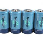 Combo: 4pcs Tenergy C 5000mAh NiMH Rechargeable Batteries