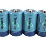 Combo: 4pcs Tenergy D 10000mAh NiMH Rechargeable Batteries