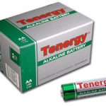 1 Box: 24pcs Tenergy AA Size (LR6) Alkaline Batteries