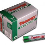 1 Box: 24pcs Tenergy AAA Size (LR03) Alkaline Batteries