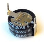 Coin Super Capacitor 5.5V 0.33F