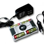 Combo: T-8000 4-Bay Smart Charger + 4 AA 2300mAh NiMH Rechargeable Batteries w/ Free Case